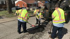 Crews Working To Repair Area Potholes
