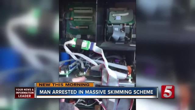 Metro Police- 1 Arrested- 1 Sought For Credit Card Skimming