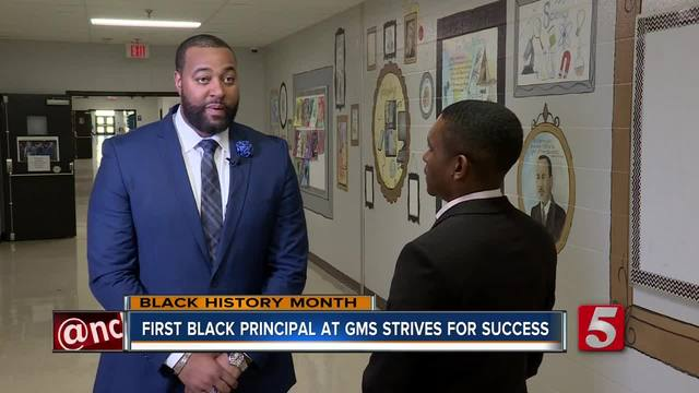 Local Middle School-s First African-American Principal Paves Path For Success