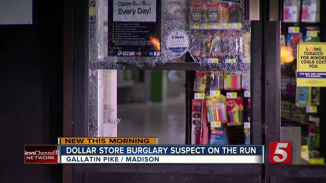 Burglar Attempts To Steal Safe From Dollar General