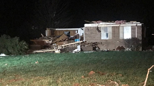 Storms Kill Kentucky Woman, Arkansas Man