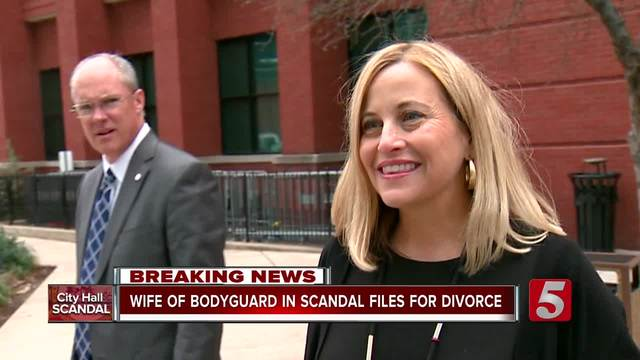 Wife Of Bodyguard In Mayor Scandal Files For Divorce