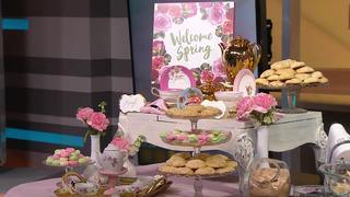 Spring Tea Party Ideas & Mema's Tea Cake Cookies