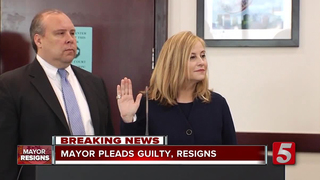 Barry Resigns After Pleading Guilty To Theft