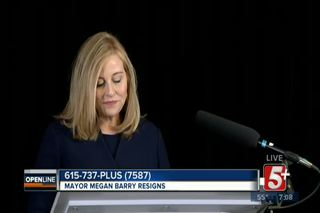 Megan Barry is No Longer Mayor of Nashville
