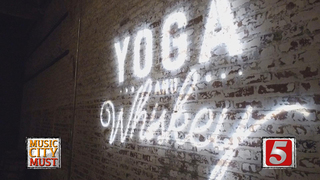 Yoga + Whiskey Brings Zen to the Distillery