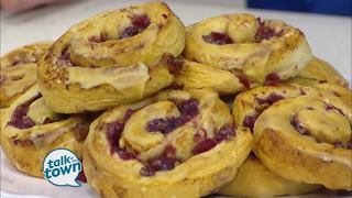 Bake-Off Winner:Bejeweled Cranberry-Orange Rolls