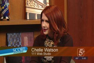 Score on Business: Chelle Watson, 111 Web Studio
