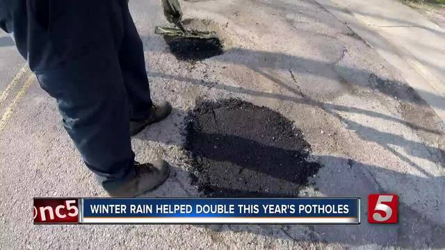 Potholes Double In 2018 From Recent Years