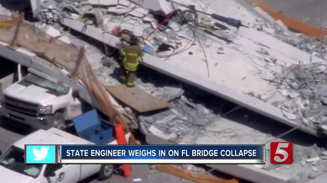 Engineering firm behind collapsed Florida bridge also designed multiple bridges in Virginia