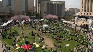 Hundreds Enjoy Music City Irish Festival
