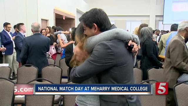 National Match Day-Held At-Meharry Medical College