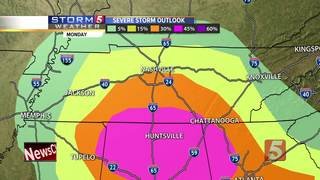 Storm 5 Forecast: Monday, March 19, 2018