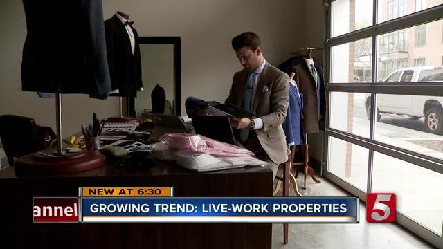 Live And Work Properties Are A Growing Trend In Music City