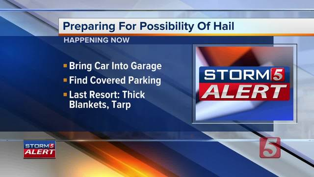 Protecting Your Car From Hail Damage