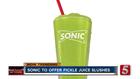 Sonic Launching Pickle Juice Slush This Summer