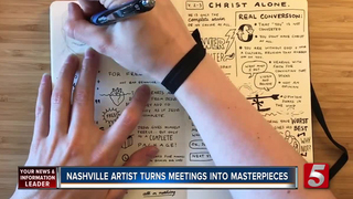 'The Sketch Effect' Turns Meetings Into Art