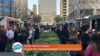 Food Truck Street Parties in Downtown Nashville