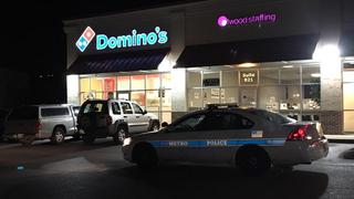 Armed Robber Crawls Through Domino's Drive-Thru