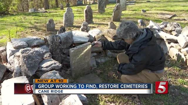 MTSU- Cane Ridge Residents Team Up To Preserve History