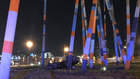 Car Crashes Into Nashville's 'Stix' Sculpture