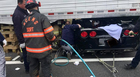 Corvette Wedged Under Semi In I-24 Crash