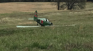 Plane Makes Hard Landing In Maury Co.