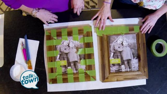 The Handmade Homes Diy Turning Frames Into Art Newschannel 5