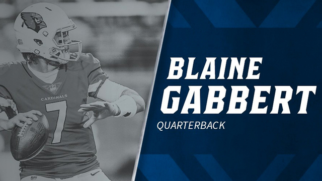 Tennessee Titans agree to terms with QB Blaine Gabbert