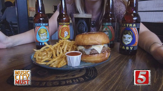 Flavor-Packed Five Beer Burger