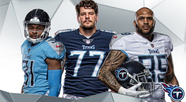 The Titans unveiled their new uniforms, which are inspired by Greek mythology