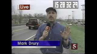 NC5 Knocked Off The Air During 1998 Tornadoes