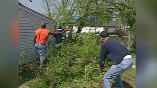 Tennessee Oilers Help Out After 1998 Tornadoes