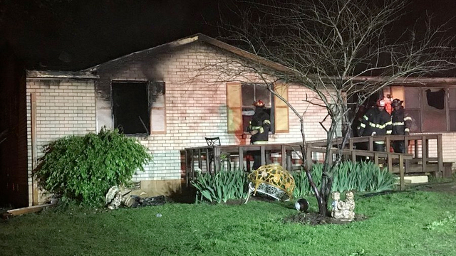 Fire crews called to Harrisburg house fire