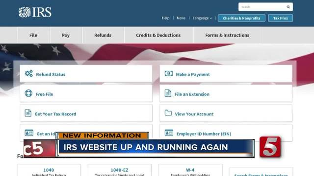 Tax Deadline Extended After Irs Website Crashes