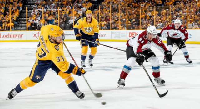 National Hockey League suspends Predators' Ryan Hartman 1 game for check to Soderberg's head