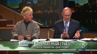 Retirement Report: Taxes & Financial Planning