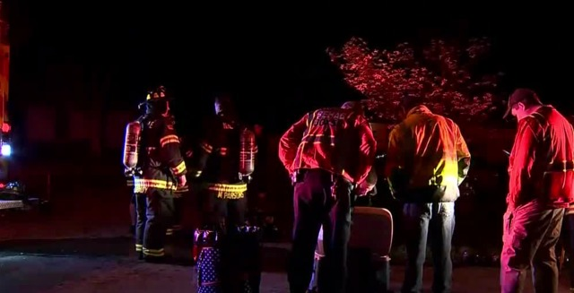 Firefighter Injured While Battling House Fire