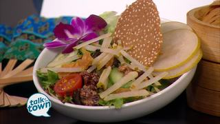 Maneet Chauhan's Tansuo Pear Salad Recipe