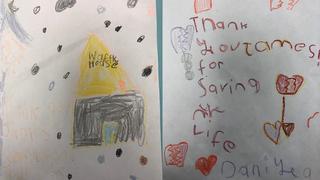 Kindergarteners Thank Waffle House Hero