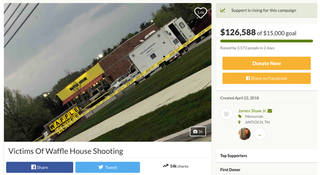 Donations Pour In Waffle House Shooting Victims