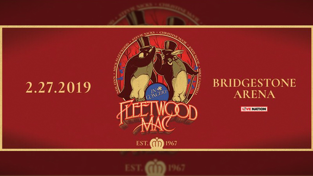 Look Fleetwood Mac headed to Buffalo in 2019