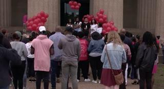 Sorority Hosts Vigil For DeEbony Groves