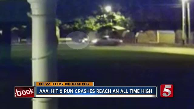 More than 1 hit-and-run per minute on United States  roads