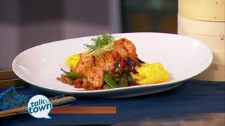 Tànsuǒ'sSzechwan Shrimp Omelette
