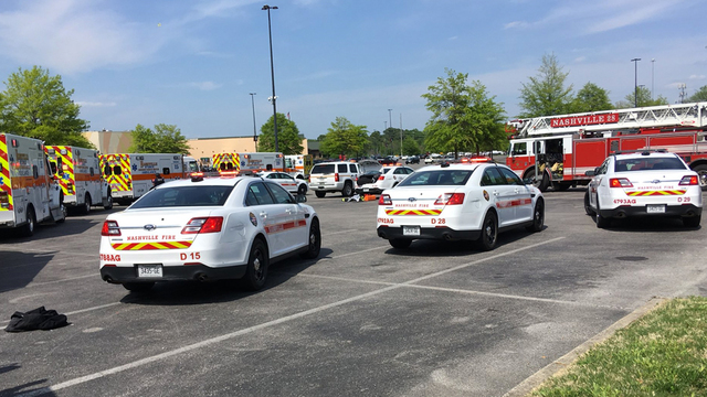 1 in critical taken to hospital — NASHVILLE MALL SHOOTING