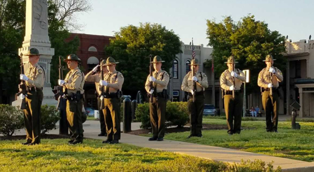 Fallen troopers honored at Memorial Ceremony