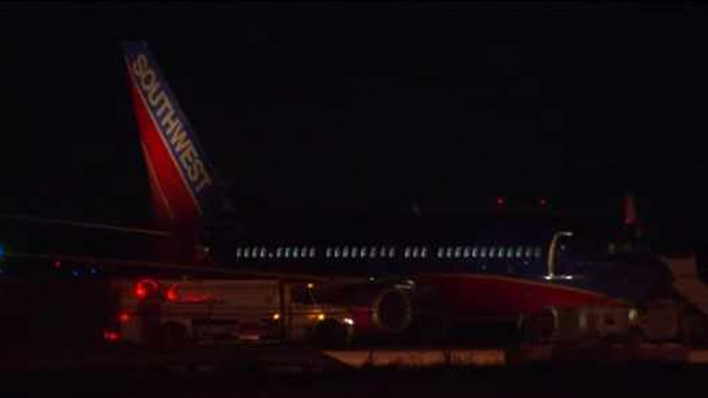 Southwest Plane Makes Unscheduled Landing At DFW Airport