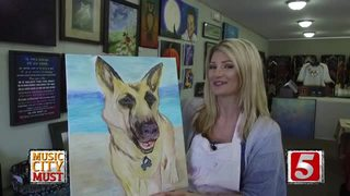 Paint Your Pet at Robin's Gallery in Donelson