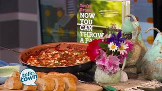 Sallie Swor's Greek Style Tomato Shrimp Bake